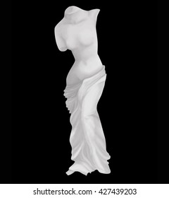Venus classic isolated digital painting