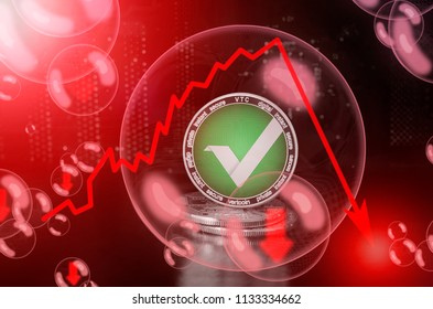 Vertcoin (VTC) in a soap bubble. Risks and dangers of investing to Vertcoin. Collapse of the exchange rate. Unstable concept