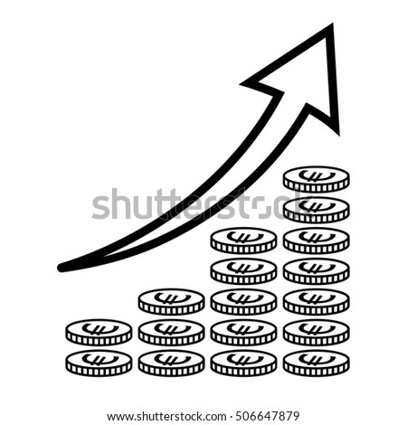 Royalty Free Stock Illustration Of Vertical Bar Graph Diagram