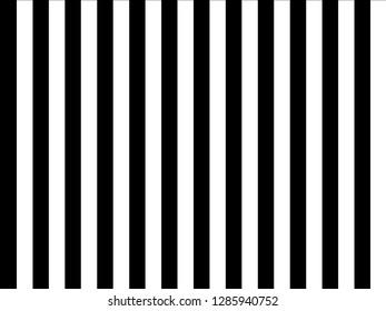 Vertical black and white stripe