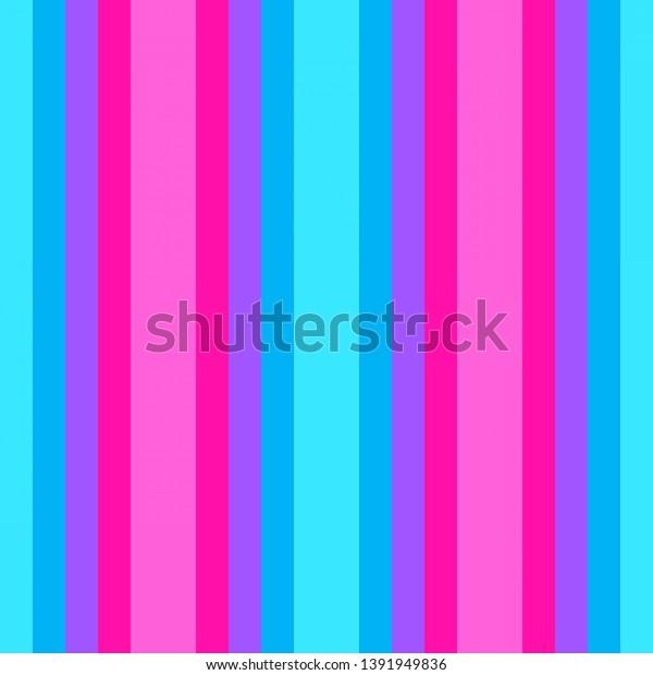 Vertical Lines Neon Fuchsia Deep Sky Stock Illustration 1391949836
