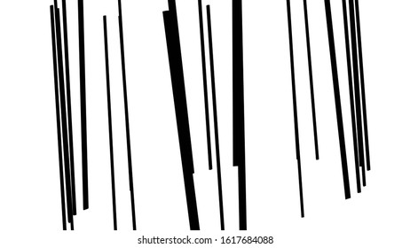 vertical lines pattern backdrop. striped graphic design. digital geometric - minimal style decoration. black abstract silhouettes on white background.