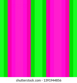 vertical wallpaper lines deep pink, lime and vivid lime green colors. abstract background with stripes for wallpaper, presentation, fashion design or web site.