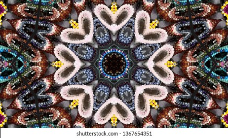 Very beautiful kaleidoscope images for your design