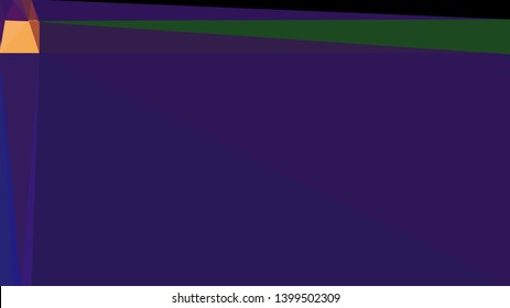 very dark violet, very dark green and sandy brown multi color background art. abstract triangle style composition for poster, cards, wallpaper or texture.