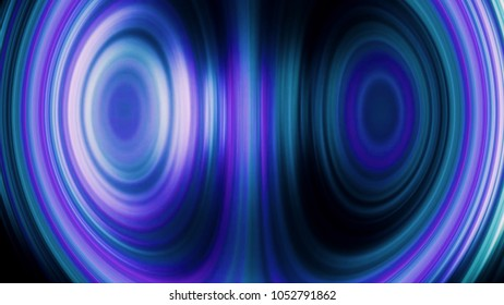 Vibrancy. Background with blue blurred magic neon light rays. Concept of information technology and big data. technological background of the hologram futuristic server room modern datacenter. Sound
