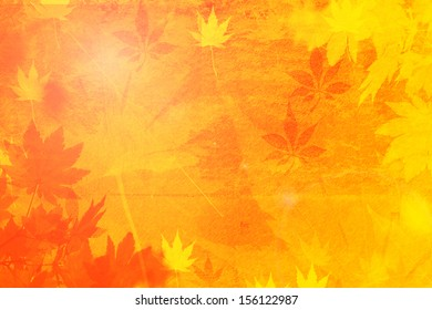 vibrant autumn background/Autumn background/Illustrative design