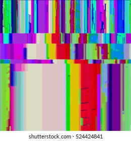 vibrant various rgb colors modern abstract digital glitch graphic design damaged data file background