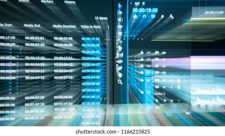 video editting timeline Zoom blast