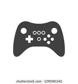 Video game Controller Icon. isolated on white background