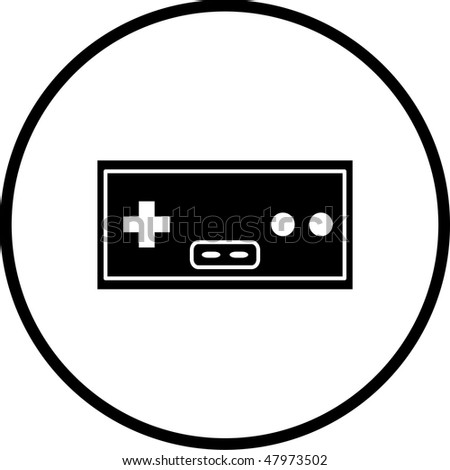Video Game Controller Symbol Stock Illustration 47973502 Shutterstock