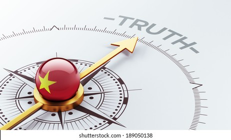 Vietnam High Resolution Truth Concept