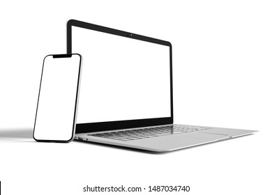View of a Isolated Devices Mockup