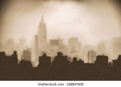 View of Manhattan. New York
