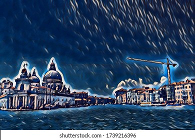 view of venice in colors
