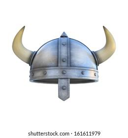 viking helmet isolated