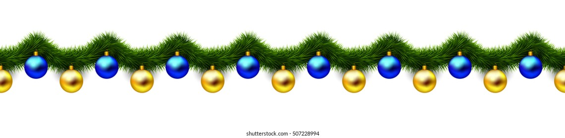 vintage 3d abstract christmas decoration isolated on white background blue and gold xmas holiday ornaments