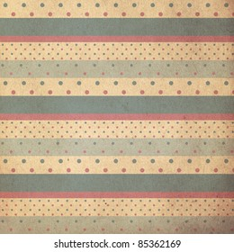 vintage background from grunge paper, texture with retro pattern