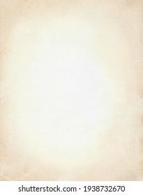 Vintage beige paper framing background. Watercolor hand drawn illustration pattern