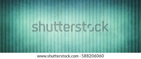 Vintage Blue Green And White Striped Wallpaper Background Design With Faded Light Center Darker Vignette