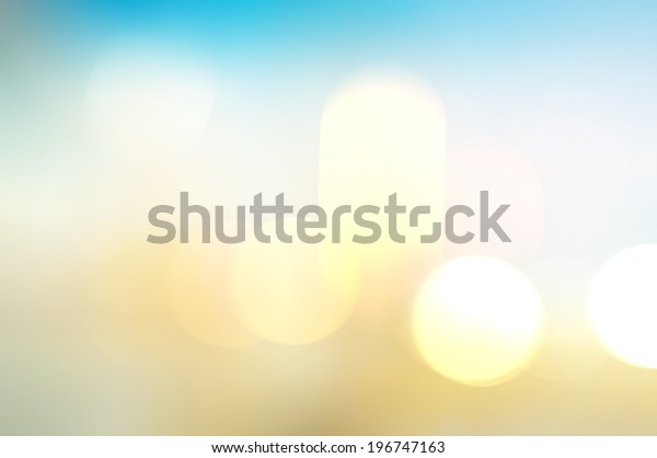 Vintage blurry light and subtle photographic bokeh background