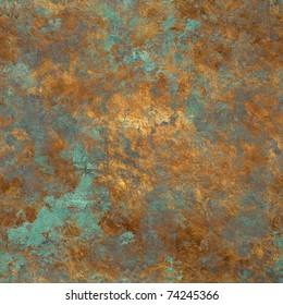 vintage bronze seamless background
