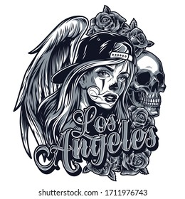Chicano Tattoo Images Stock Photos Vectors Shutterstock