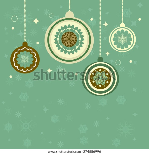 Vintage Christmas Background Perfect Cards Wallpaper Stock