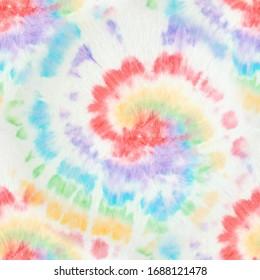 Vintage Colors. Grunge Fantasy Kaleidoscope. Vintage Colors Tie Dye. Bright Colors Dyed Print. Vibrant Fashion Wallpaper. Artistic Effect. Magic Acrylic Tie Dye.