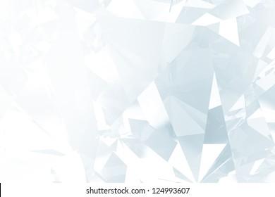 vintage crystal facet background
