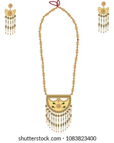 Vintage Emirate Necklace design