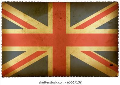Vintage flag UK