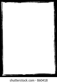 Vintage frame border 3:4 Contains just one transparent layer, so it's easy to use!