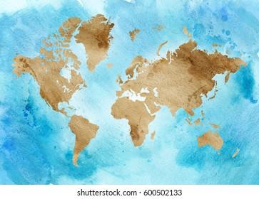 Imágenes, fotos de stock y vectores sobre Paint Splash World ...