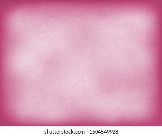 Vintage pink old paper in watercolor style, horizontal. Empty colored background, space for the copy.