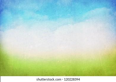 vintage spring/summer background