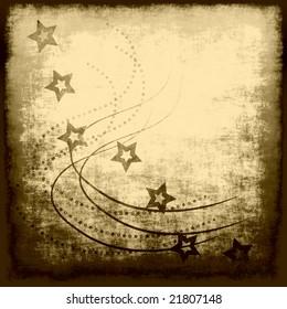 Vintage Stars Grunge