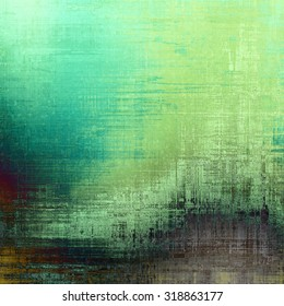 Vintage texture. With different color patterns: brown; blue; gray; green