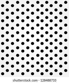 Vintage white dotted background