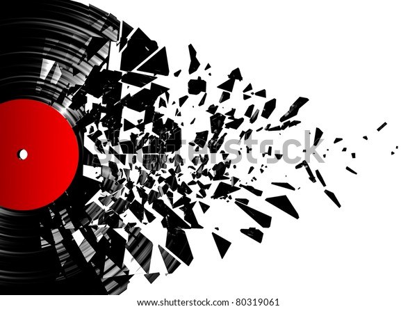 Vinyl shatter