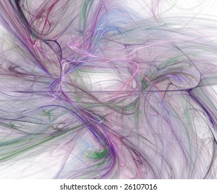 Violet flame storm in space (3d pattern)