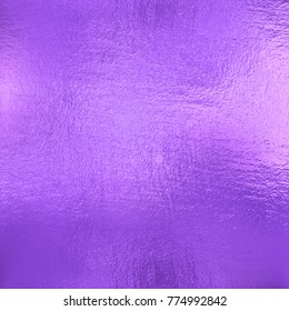Violet foil texture background