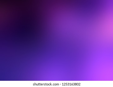 Violet lilac ombre pattern. Purple dark blurred background. Defocus texture. Abstract illustration.