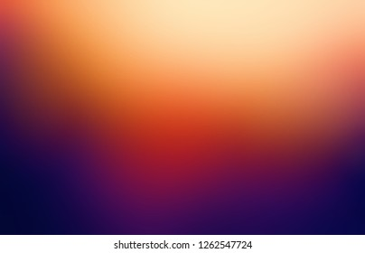 Violet red yellow ombre pattern. Light and shadow. Blurred texture. Dark vivid defocus background. Abstract backdrop.