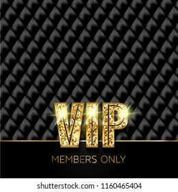 VIP card. Members only