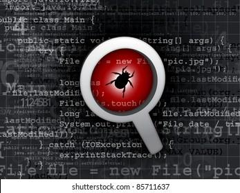 virus bug in program code