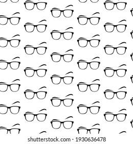 vision illustration background  print lens cool glasses design black optic textile glass frame art line clothing paper optical