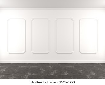 visualization of the interior. 3D Rendering