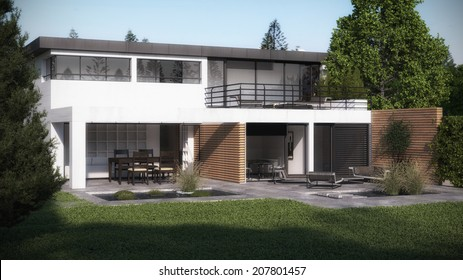 Visualization of a new house