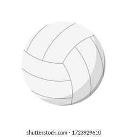 Volley ball illustration. Ball, round, circle. Sport concept illustration can be used for topics like sport, playing, active lifestyle